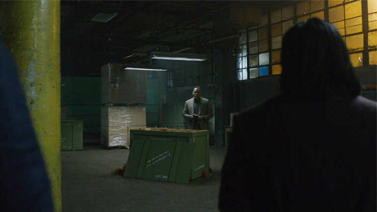 Luke Cage: Warehouse